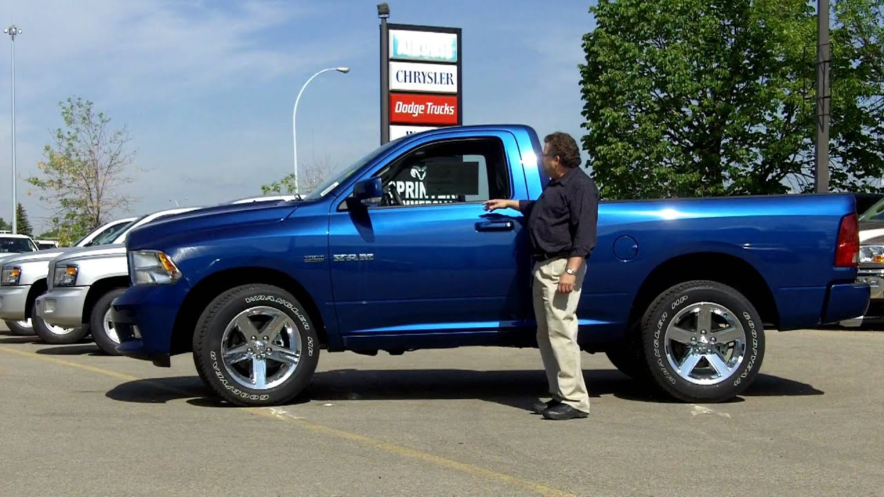Dodge Ram Express >> 2010 Ram Dodge 1500 Regular Cab 4x4 - YouTube