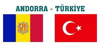 Andorra - Türkiye Milli Maçı Ne Zaman? Hangi Kanalda?