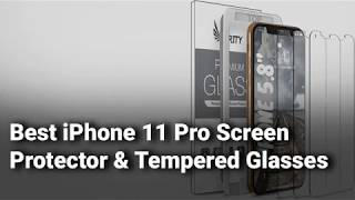 Best iPhone 11 Pro Screen Protector and Tempered Glasses in  ndia Complete List with Details   2019