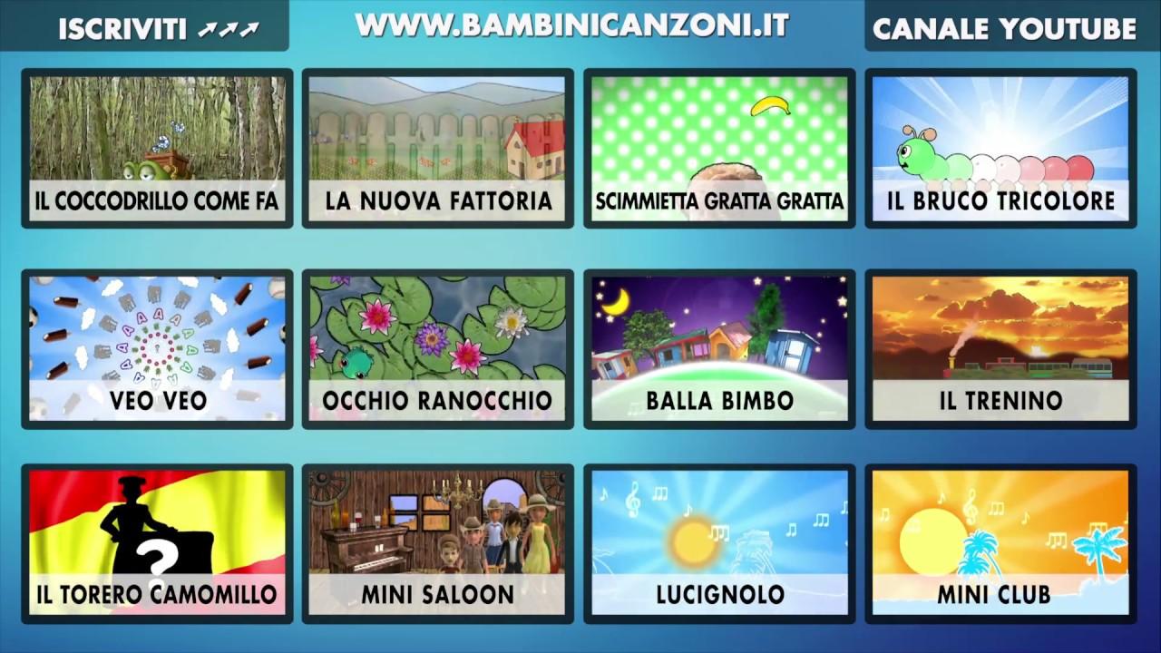 Indice interattivo canzoni per bambini e bimbi piccoli for Canzoncini per bambini piccoli
