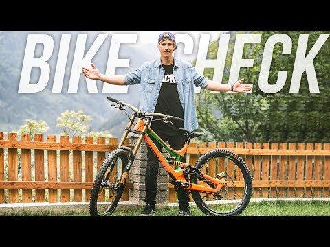 The Fabiolous Escape 2 Machine - Bike Check Fabio Wibmer