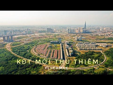 Diện mạo bán đảo Thủ Thiêm – Khu đô thị ĐẸP NHẤT Sài Gòn nhìn từ trên cao . FLYCAM4K 26/3/2020