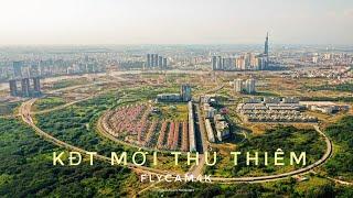 Diện mạo bán đảo Thủ Thiêm - Khu đô thị ĐẸP NHẤT Sài Gòn nhìn từ trên cao . FLYCAM4K 26/3/2020