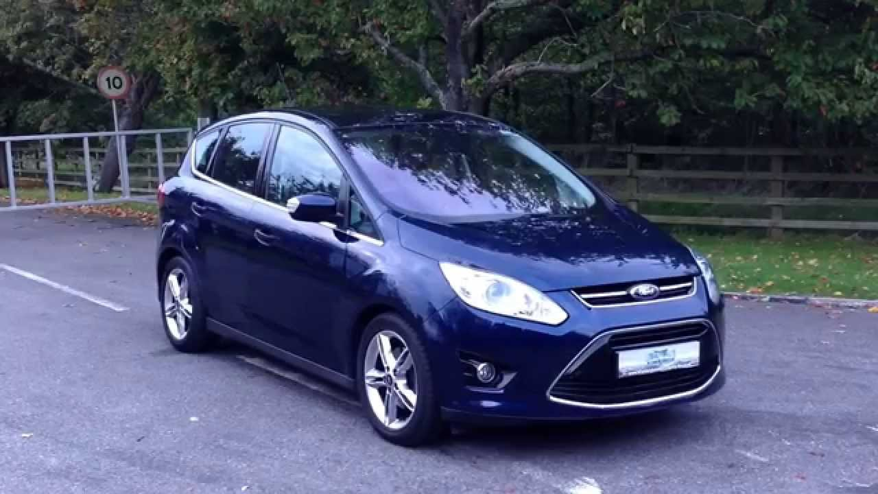 2017 13 Ford C Max 2 0 Tdci Shift Automatic Anium X Full Leather Navigation