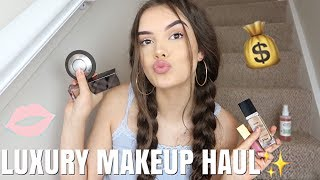 HUGE LUXURY MAKEUP HAUL! aka I spent too much oops | India Grace