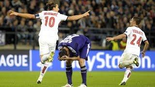 Zlatan Ibrahimovic vs Anderlecht HD - Amazing long shot goal Vine!