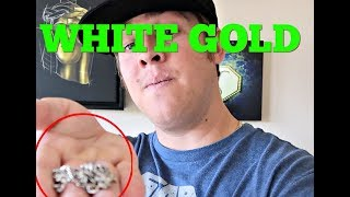 WHITE GOLD/RHODIUM  jewelry over time...