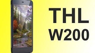 Видео обзор 5 дюймового телефона THL W200(Представляем вашему вниманию на русском языке видео обзор на китайский 5 дюймовый сенсорный телефон THL..., 2013-12-30T21:01:02.000Z)