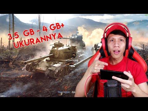 PANTAS UKURANNYA 3,5 GB - 4 GB LEBIH ! - GAME ANDROID UKURAN TERBESAR #2 - WORLD OF TANKS INDONESIA