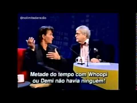 Patrick Swayze - No Brasil - Programa: Jô Soares - SBT -1995