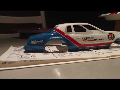 1/24 Scale Bob Glidden Pro Stock Ford Thunderbird