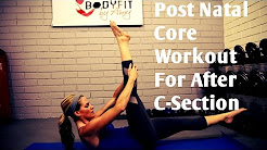 12 Minute C Section Post Natal Core Workout