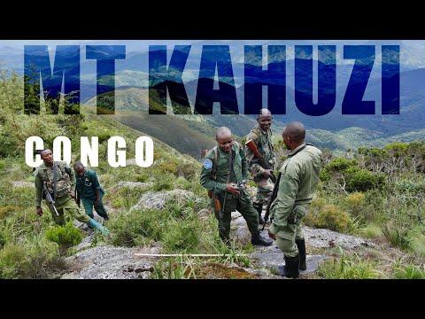 Mont Kahuzi (République Démocratique du Congo)