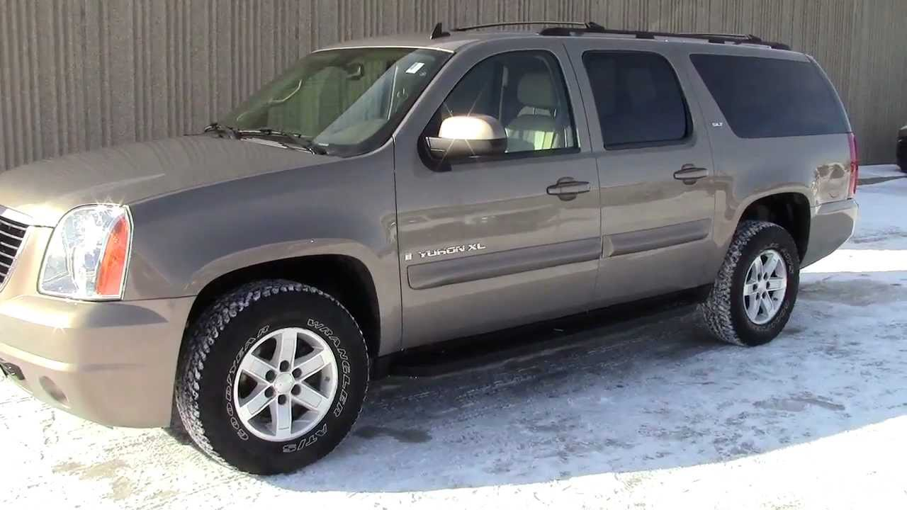 2007 gmc yukon xl slt youtube. Black Bedroom Furniture Sets. Home Design Ideas
