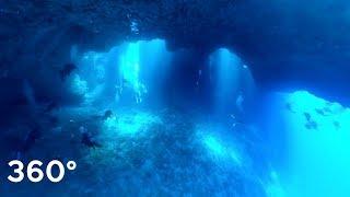 """Palau """"BLUE HOLE"""" Look Around!! 360° 4K"""