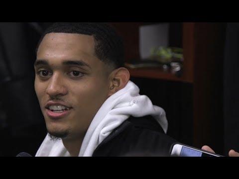 Jordan Clarkson Postgame Interview / LA Lakers vs Pacers / Jan 19