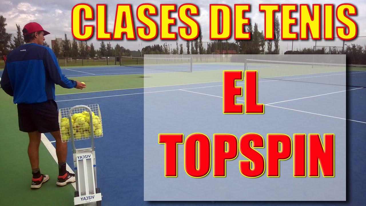 Clase de Tenis: El topspin