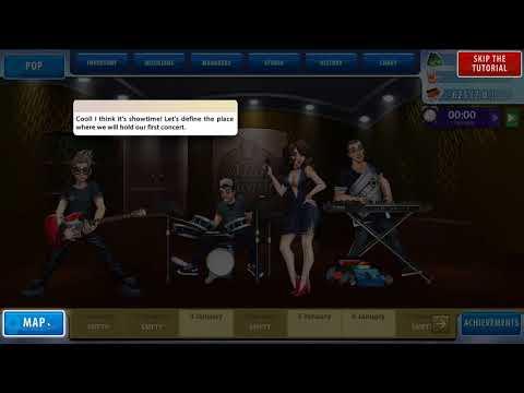Music Awards Manager Gameplay (PC game).