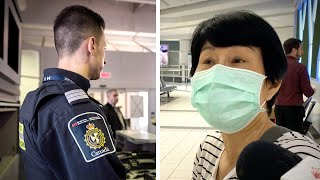 Do Beijing arrivals to Toronto have language skills to understand quarantine rules?