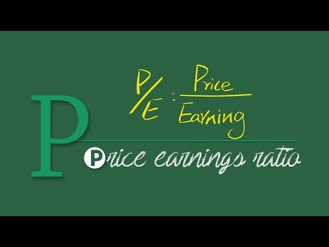 A-Z of Stock Markets: Price Earnings Ratio