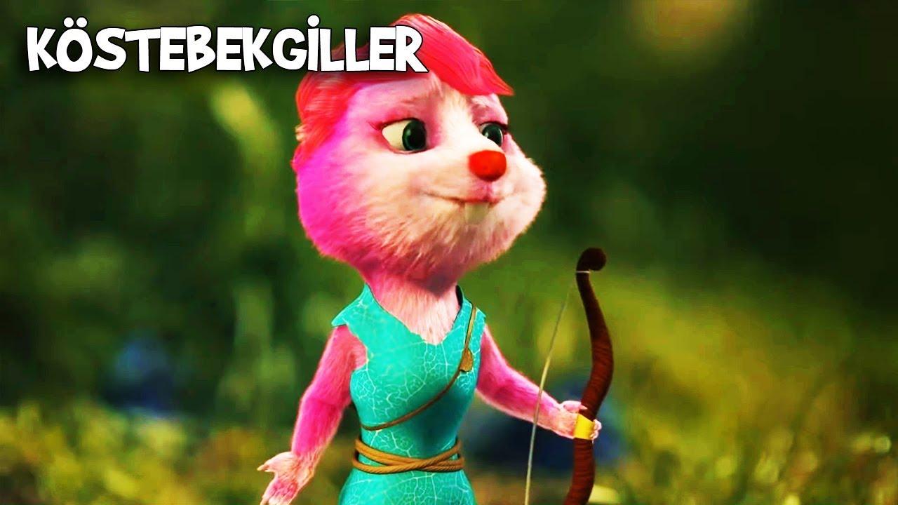 Pelin ve Caner, Köstosum'u Kurtarmaya Çalışıyor   Köstebekgiller: Perili Orman Animasyon Filmi