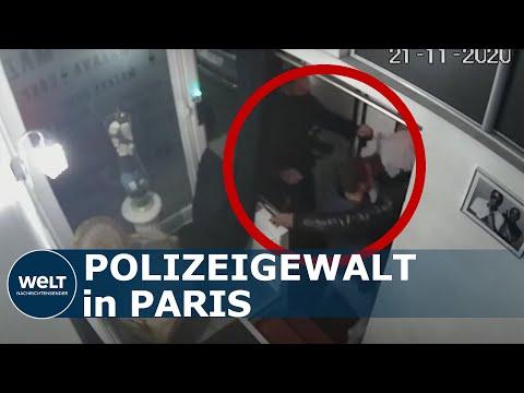 Frankreichs Prügel-Bullen - Polizisten schlagen Musikproduzenten