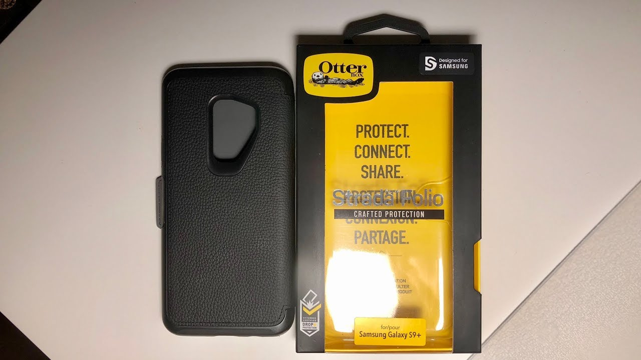 sports shoes 60322 370dc Galaxy S9/S9+ Otterbox Strada Folio: Unboxing and Impressions