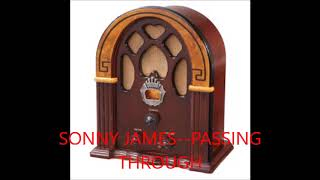SONNY JAMES---PASSING THROUGH YouTube Videos