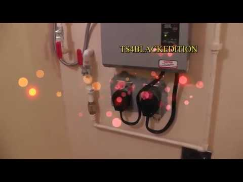 hqdefault rheem ecosense tankless water heater rete 18 installation youtube rheem rte 18 wiring diagram at eliteediting.co