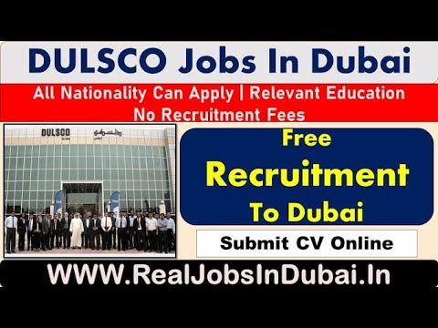 DULSCO Company Hiring Staff In Dubai – 2021