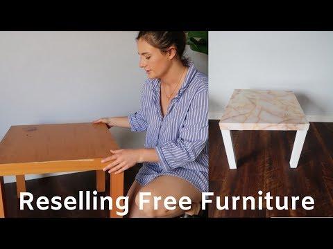Free Craigslist Furniture Transformation