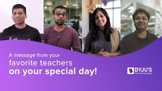 BYJU'S wishes you a very Happy Children's Day