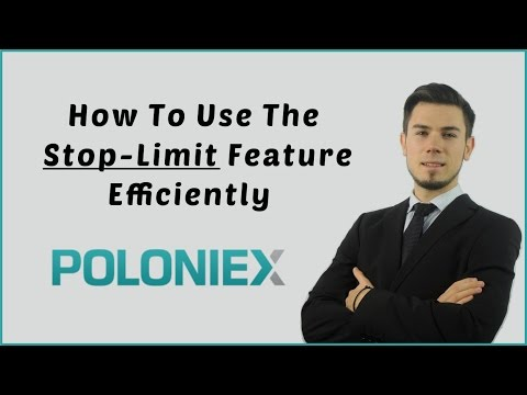How To Trade With Stop-Limit Cryptocurrency On Poloniex