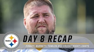 B.J. Finney discusses his mentality, Tomlin on Friday Night Lights & more | Pittsburgh Steelers