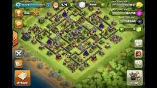 CLASH OF CLANS FINALLY FULLY MAXED OUT TH9 BASE!!