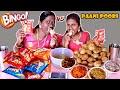 BINGO vs PAANI POORI GOLGAPPA EATING COMPETITION IN TAMIL FOODIES DIVYA vs ANUSHYA |EATING CHALLENGE