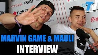 Repeat youtube video MARVIN GAME & MAULI Interview: Berlin, Trap, Joint, Kid Ink, Streetlife, Out4Fame, Splash, VBT