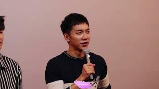 20180304 궁합 무대인사 이승기 직캠 (FANCAM) No.6
