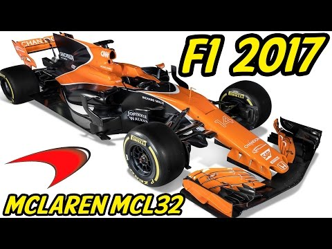 F1 McLaren MCL32 Analysis - Lets Talk F1 2017