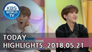 Today Highlights-Mysterious Personal Shopper E56/Sunny Again Tomorrow E7/Hello Counselor[2018.05.21] Mp3