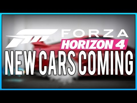 NEW CARS COMING - FORZA HORIZON 4 thumbnail