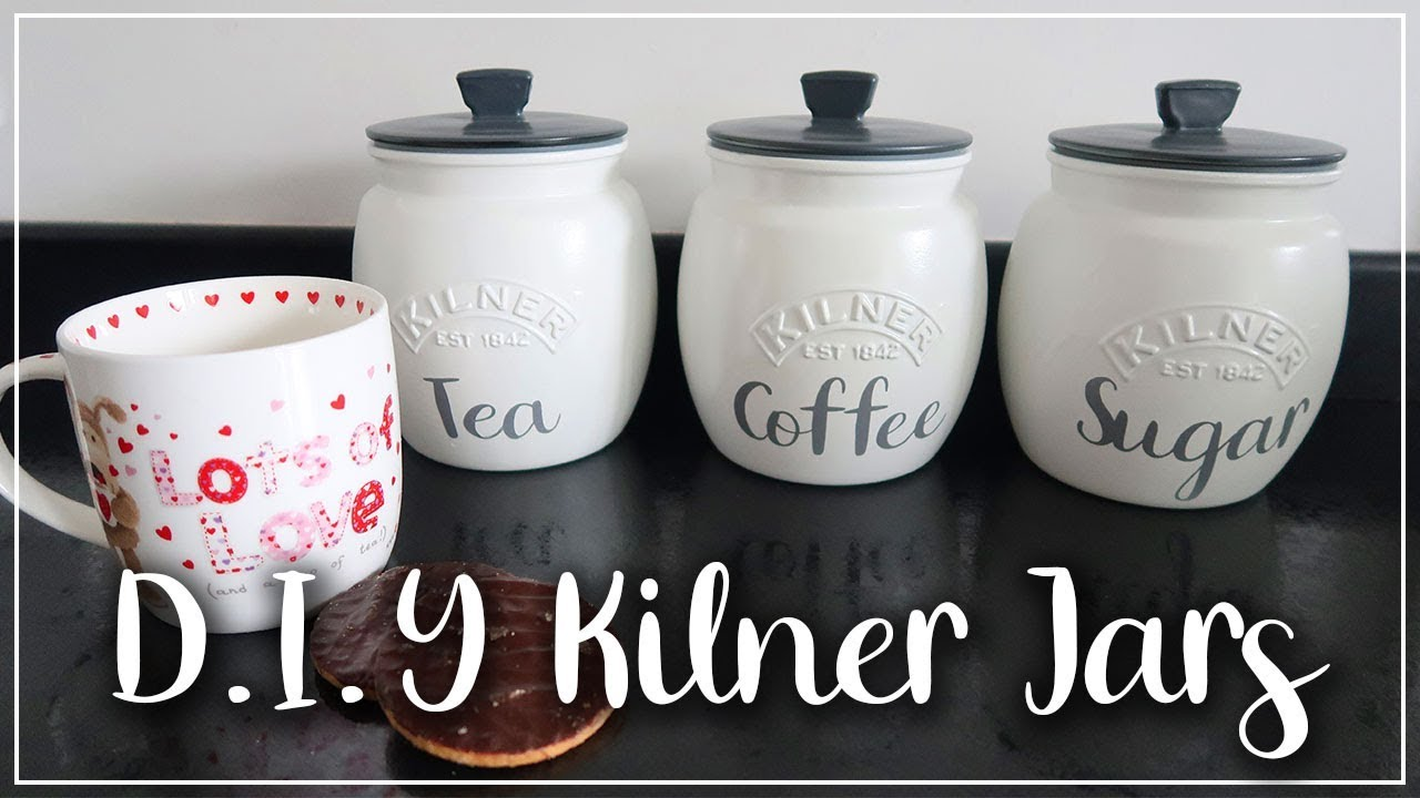 Diy Painted Kilner Jars Kitchen