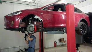 Tesla Model X. Еще тот подарок в ремонте