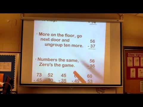 Subtraction Poem - Math Video #10