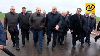 Александр Лукашенко: Качество местных дорог необходимо поднять до уровня республиканских