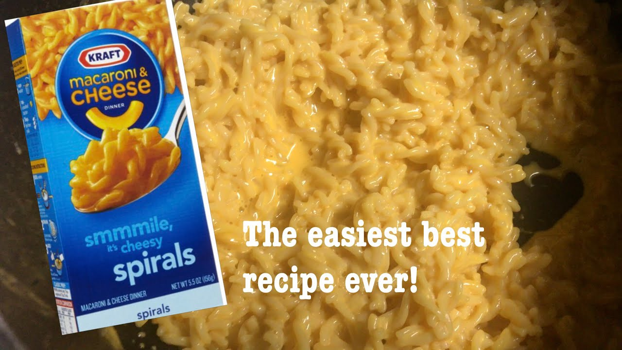 how to make really cheesy kraft mac and cheese