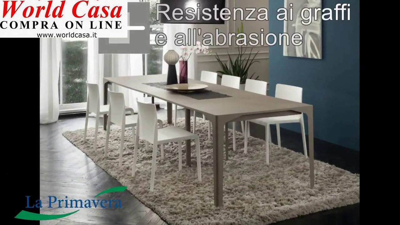 Tavoli Da Pranzo Con Piano Fenix Acquista On Line Youtube