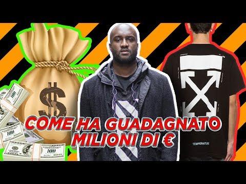 VIRGIL ABLOH E OFF-WHITE: COME HA GUADAGNATO MILIONI DI EURO!