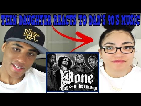 Teen Daughter Reacts To Dad's 90's Hip Hop Rap Music | Bone Thugs n Harmony - Thuggish Ruggish Bone