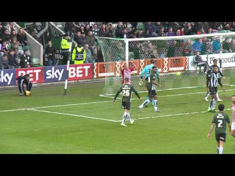 Plymouth Argyle 1-2 Exeter City (21/11/15) Sky Bet League 2 Highlights 2015/16